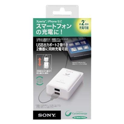 CP-A2LS [USB出力機能付きポータブル電源セット Cycle Energy]