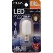 LDT1L-G-E12-G101 [LED電球 ナツメ球形 E12口金 電球色 15lm]