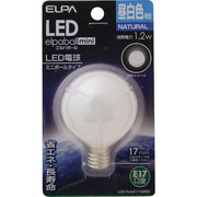 LDG1N-G-E17-G260 [LED電球 E17口金 昼白色 55lm LED elpaball mini(エルパボール ミニ)]
