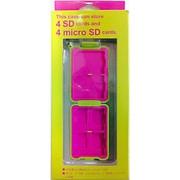 4SD/4microSD コンパクトカードケースL