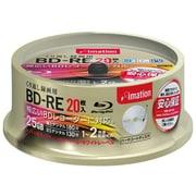 BDREV25BWA20S [録画用BD-RE 書換型 1-2倍速 片面1層 25GB 20枚 パールホワイトレーベル ガイドライン付き]