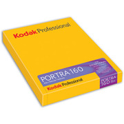 Kodak PORTRA 160 [プロフェッショナルポートラ160 4×5 10枚入り]