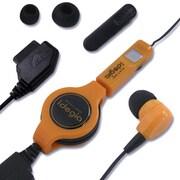X-013 [idegia モバイルイヤホン リールタイプ au-WIN/CDMA用 オレンジ]