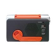 CB-G412OR ダイナモラジオ手回し充電器 OR