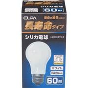 LW100V57W-W [白熱電球 長寿命シリカ電球 E26口金 100V 60W形(57W) 55mm径 ホワイト]