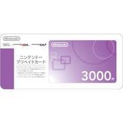 ニンテンドー プリペイドカード 3,000円