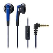 ATH-C505iS BL [スマートフォン用インナーイヤーヘッドホン 4極プラグ対応 ブルー]