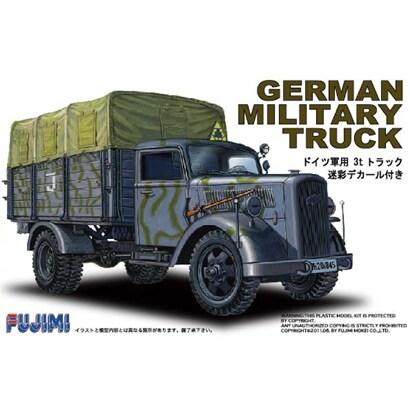 172ML-2 [1/72 ドイツ軍用トラック 迷彩]