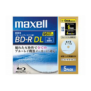 BR50VSKB.5S [録画用BD-R DL 片面2層 50GB 1-4倍速 ライトブルー 5枚]