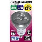 JSA1007BC [LED電球 EZ10口金 電球色相当 230lm 広角]