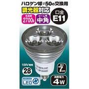 JSD1107CB [LED電球 E11口金 210lm 中角]