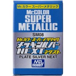 SM08 [Mr.カラー スーパーメタリック メッキシルバー NEXT]