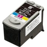 ECI-C71C-V [キヤノン BC-71 互換リサイクルインクカートリッジ カラー]