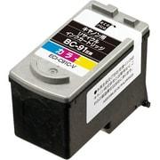 ECI-C91C-V [キヤノン BC-91 互換リサイクルインクカートリッジ カラー]