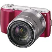 NEX-C3K P JE [ズームレンズキット E 18-55mm F3.5-5.6 OSS ピンク 海外仕様製品]