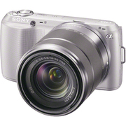 NEX-C3K S JE [ズームレンズキット E 18-55mm F3.5-5.6 OSS シルバー 海外仕様製品]