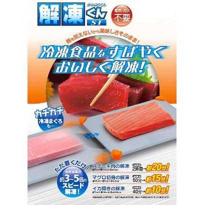 解凍くんSI冷凍食品解凍プレート [キッチン用品]