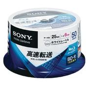 50BNR1DCPP6 [データ用ブルーレイディスク インクジェット対応ワイド(BD-R 1層:6倍速) 50枚パック]