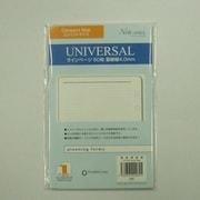 60909 [手帳 ユニバーサルラインページ コンパクトサイズ]