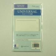 60914 [手帳 ユニバーサル ドットページ ポケットサイズ]