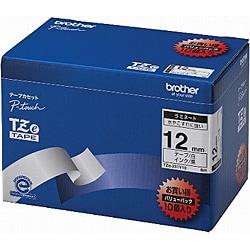 TZe-231V10 [ラベルライターピータッチ用 ラミネートテープ 10本パック 白テープ 黒文字 幅12mm 長さ8m]