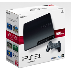 プレイステーション3 HDD160GB チャコールブラック CECH-3000A