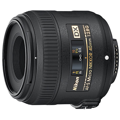 AF-S DX Micro NIKKOR 40mm f/2.8G [40mm/F2.8 ニコンFマウント DXフォーマット]