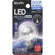 LDG1CN-G-E12-G235 [LED電球 E12口金 昼白色 18lm LED elpaball mini(エルパボール ミニ)]