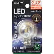 LDG1CL-G-E17-G246 [LED電球 E17口金 電球色 45lm LED elpaball mini(エルパボール ミニ)]