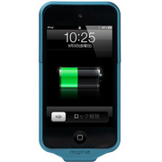 MOP-IP-000006 [mophie Juice Pack Air for iPod touch 4G ブルー バッテリー内蔵ケース]