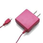 RX-EPACMPK [スマートフォン対応 microUSB 家庭用コンセントAC充電器 ピンク エコパッケージ]