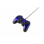 BSGP1204PBL [USBゲームパッド PC/PS3対応 アナログ/デジタル 12ボタンタイプ 連射機能付 ブルー]