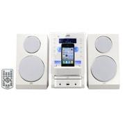 UX-LP55-W [iPod/iPhone対応マイクロコンポーネントシステム ホワイト]
