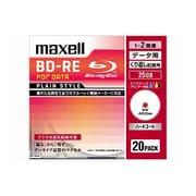 BE25PPLWPA.20S [データ用BD-RE 書換え型 片面1層 25GB 1-2倍 インクジェットプリンター対応 20枚]