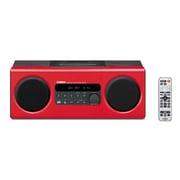 TSX-112(R) [iPhone/iPod対応 デスクトップオーディオシステム レッド]
