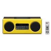 TSX-112(Y) [iPhone/iPod対応 デスクトップオーディオシステム イエロー]