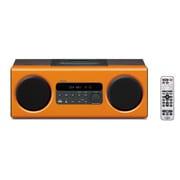 TSX-112(D) [iPhone/iPod対応 デスクトップオーディオシステム オレンジ]