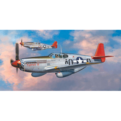 P-51B/C ムスタング タスキギー エアメン [1/72スケール プラモデル]