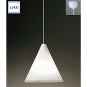 LU518 [LUKE(ルーケ) Comfortペンダントライト・乳白ガラス 引掛シーリング式]