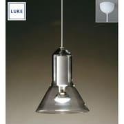 LU523 [LUKE(ルーケ) Icyペンダントライト・ホワイト/半艶 引掛シーリング式]