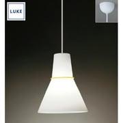 LU536 [LUKE(ルーケ) Flareペンダントライト・イエローリング large size・引掛シーリング式]