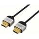 DLC-HE20S B [HDMIケーブル 2.0m ブラック スリムタイプ ハイスピード イーサネット対応 3D映像対応]
