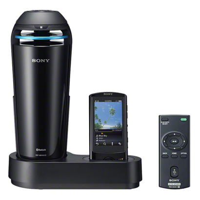 RDP-NWV600B B [WM-PORT搭載 Bluetooth対応 ドックスピーカー SOUND MUG ブラック]