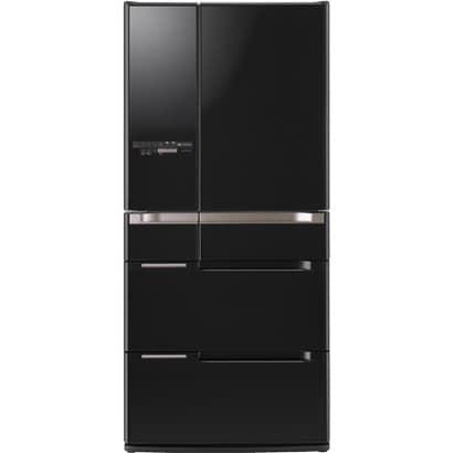 HITACHI R-B6700: 670 lít, phím cảm ứng, mặt gương, Eco