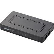 LAN-GSW08/PSB [ギガビット対応 8ポートスイッチングハブ プラスチック筐体 ブラック]