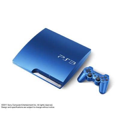 PS3 PlayStation3スプラッシュ・ブルー(HDD:320GB)CECH-3000BSB