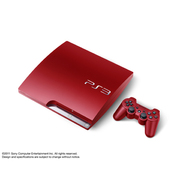 PS3 PlayStation3 スカーレット・レッド(HDD:320GB)CECH-3000BSR