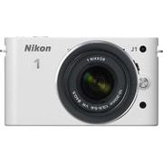 Nikon 1 J1 [ニコン1<ONE> レンズ交換式アドバンストカメラ 標準ズームレンズキット 1 NIKKOR VR 10-30mm f3.5-5.6 ホワイト]