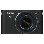 Nikon 1 J1 [ニコン1<ONE> レンズ交換式アドバンストカメラ 標準ズームレンズキット 1 NIKKOR VR 10-30mm f3.5-5.6 ブラック]