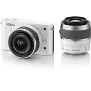 Nikon 1 J1 [ニコン1<ONE> レンズ交換式アドバンストカメラ ダブルズームキット  1 NIKKOR VR 10-30mm f3.5-5.6 +1 NIKKOR VR 30-110mm f/3.8-5.6 ホワイト]